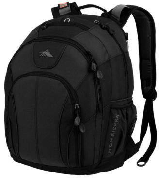 High Sierra NEW Academic Laptop Backpack Black