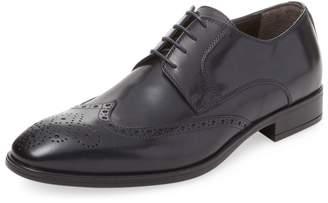a. testoni Men's Leather Derby Shoe