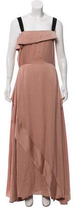By Malene Birger Sleeveless Ruffled Dress