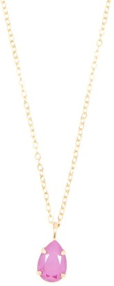 Rosaspina Firenze Peony Pink Drop Necklace