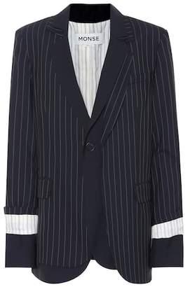 Monse Wool layered blazer