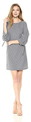 Armani Exchange A|X Women's Small Plaid Work Dress