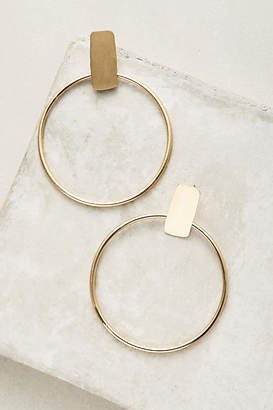 Anthropologie Limitless Hoop Earrings