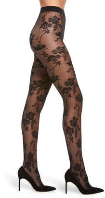 Oroblu Jasmine Lace Effect Tights