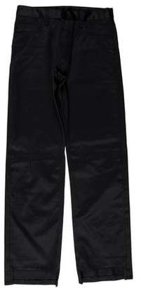 Christian Dior Waxed Straight Leg Pants