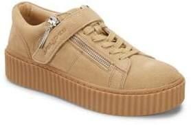 J/Slides Papper Leather Platform Sneakers