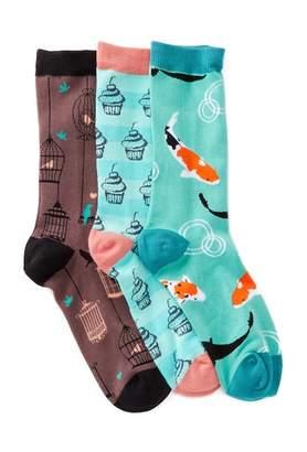 Socksmith Patterned Socks - Pack of 3