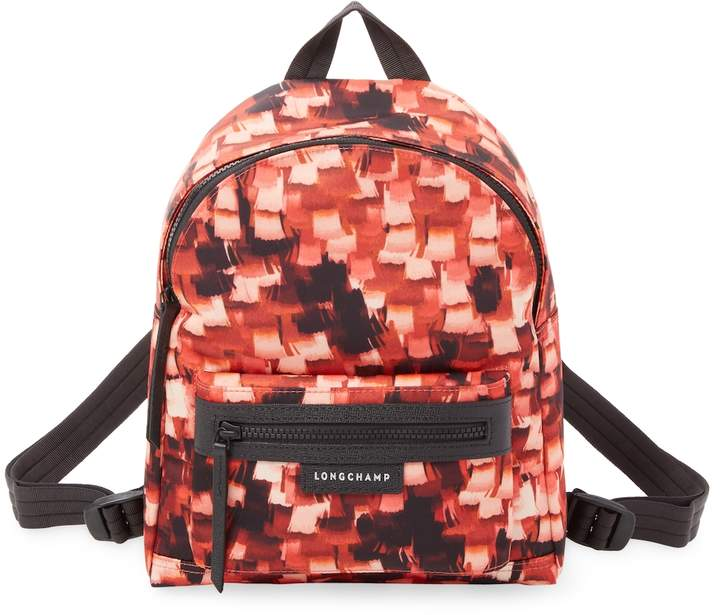 Longchamp Women's Printed Textile Backpack
