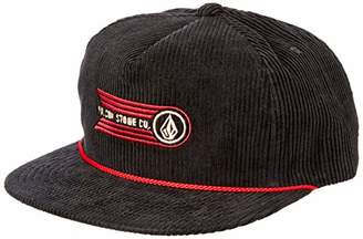 7acb6813f85 Volcom Men s Stone Glide 5 Panel Adjustable Snapback Hat