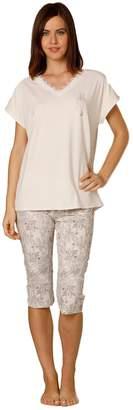 Hays Women's Plus Size Pajama Set with Capri