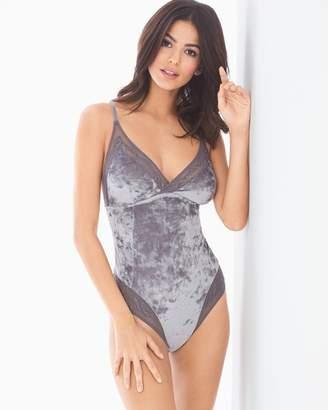 Limited Edition Velvet Illusion Bodysuit