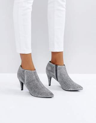New Look Glitter Heeled Boot