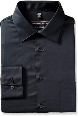 Geoffrey Beene Geoffery Beene Men's Long Sleeve Regular Fit Wrinkle Free Dress Shirt