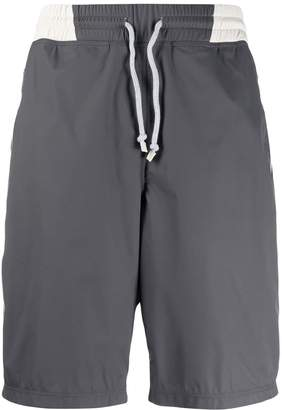 knee-high swim shorts