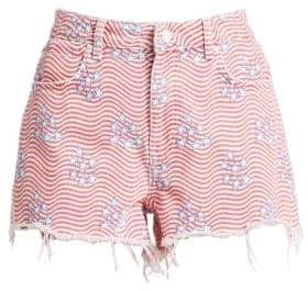 Alexander Wang Stars& Stripes Shorts