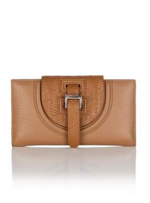 Meli-Melo Halo Wallet in Light Woven Tan