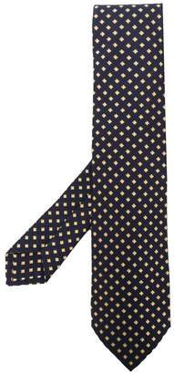 Kiton micro embroidered tie