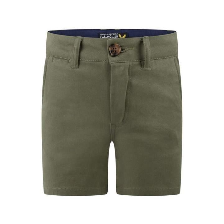 Lyle & ScottBoys Khaki Cotton Shorts