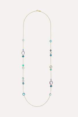 Ippolita Rock Candy 18-karat Gold Multi-stone Necklace
