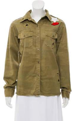 Current/Elliott The Perfect Shirt Camo Button-Up w/ Tags Olive The Perfect Shirt Camo Button-Up w/ Tags