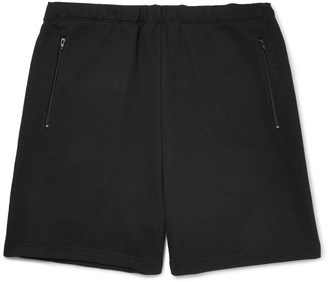 Balenciaga Loopback Cotton-Jersey Drawstring Shorts $375 thestylecure.com