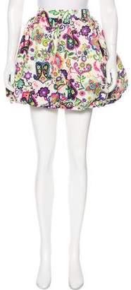 By Malene Birger Printed Mini Skirt