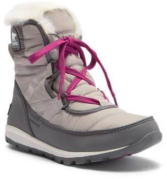 Sorel Whitney Waterproof Quarry Quilted Faux Fur Lined Boot