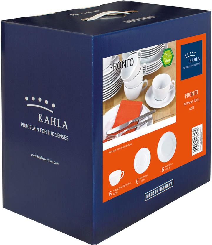 Pronto Kaffee-Set 18tlg.,2. Wahl Weiß
