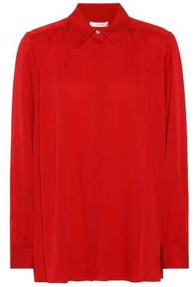 The Row Choi stretch silk shirt