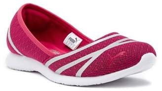 Puma Vega Ballet SoftFoam Mesh Flat Sneaker