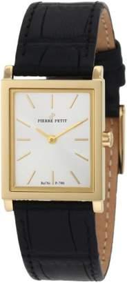Pierre Petit Women's Quartz Watch Nizza P-790C with Leather Strap