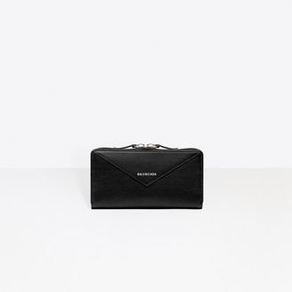 Balenciaga Long wallet with wrap around zip closure
