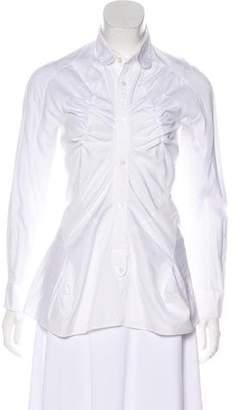 Junya Watanabe Long Sleeve Button-Up Top