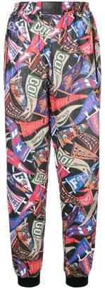 Fiorucci graphic print track trousers