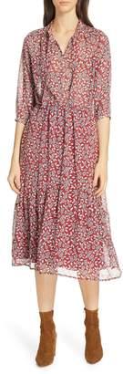 BA&SH Bonnie Midi Dress