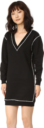 McQ - Alexander McQueen Sweatshirt Dress $575 thestylecure.com