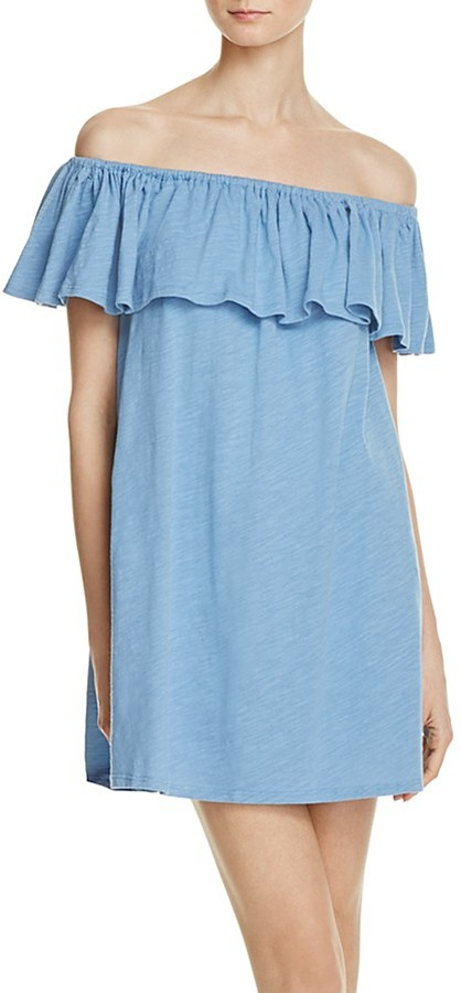 Rebecca Minkoff Diosa Off-The-Shoulder Dress