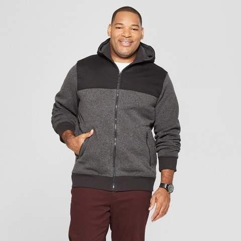 Goodfellow & Co Men's Big & Tall Sweater Fleece Shirt Jacket
