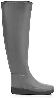 Hunter Women's Refined Creeper Tall Rain Boots