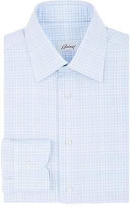 Brioni Men's Checked Cotton Dress Shirt
