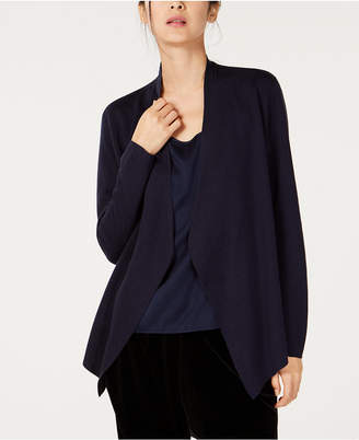 Eileen Fisher Tencel Open-Front Cardigan