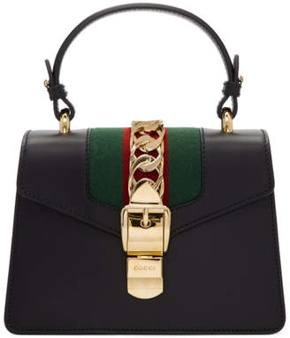 Gucci Black Mini Sylvie Bag
