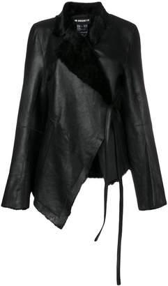 Ann Demeulemeester asymmetric wrap jacket