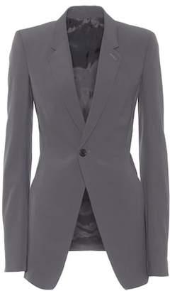 Rick Owens Wool-blend blazer