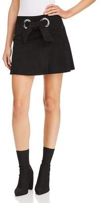 Parker Patty Suede Mini Skirt