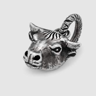 Gucci Anger Forest bull's head charm