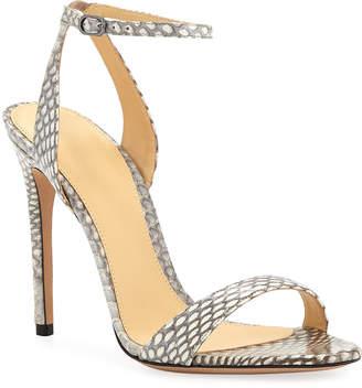 326690b3d Alexandre Birman Santine Snakeskin Sandals