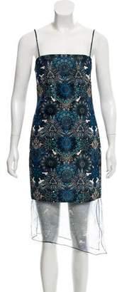 Helmut Lang Sleeveless Chiffon Dress