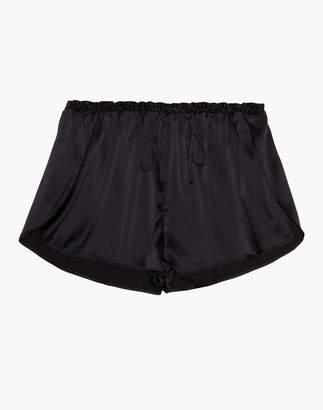 Madewell The Great Eros Silk Ereni High-Waisted Shorts