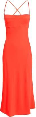 Mason by Michelle Mason Crepe Bustier Midi Dress